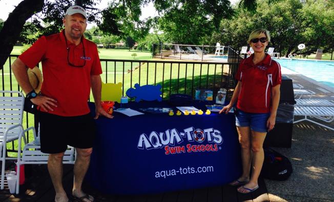 andy and lynn aqua-tots owners