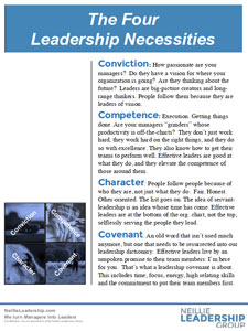 Four Leadership Necessities